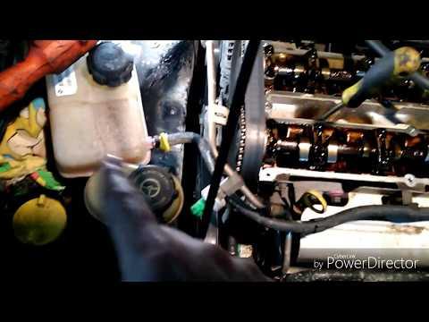 Фото к видео: Ford Mondeo мотор Zetec - e 2L 2000г замена ГРМ