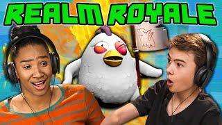 REALM ROYALE (React: Gaming)