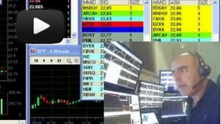 Live day trading: Watching the buyers and sellers