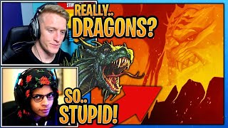 Streamers React To *DRAGONS* Coming To Fortnite SHOCKED  Fortnite Funny Moments Ep. #5