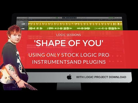 Making A Beat: 'Shape Of You' (Remake) / Ed Sheeran Tutorial / Logic Pro Music Production