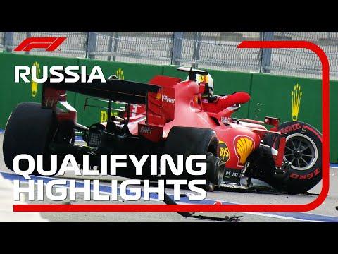 フェラーリ・ベッテルが大工ラッシュ!F1 ロシアGP 予選ハイライト動画