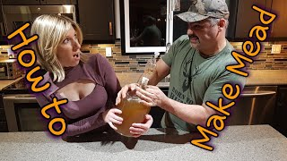 How To Make Mead: The Worlds First Fermented Alcoholic Beverage!