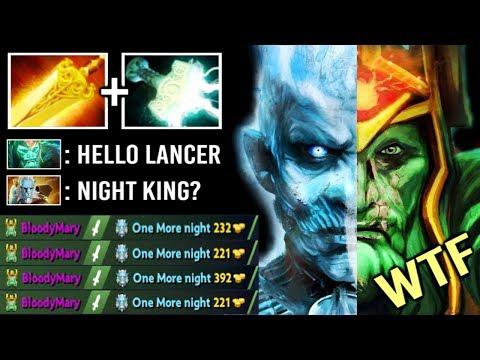 Epic Pro Mjollnir Wraith King Delete PL Imba AOE Damage Night King Build +35 Skeleton DMG Dota 2