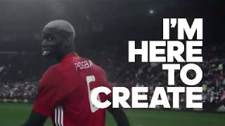 Paul Pogba I'm Here to Create' AMAZING COMMERCIAL