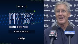 Head Coach Pete Carroll Week 14 Friday Press Conference | 2019 Seattle Seahawks