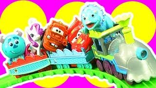 Dinosaur Train & Diesel 10 Dinosaur Train Mix N Match Toy Choo Choo Fun