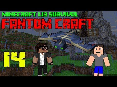 Minecraft survival 1.13.2! #14 |FANTOM CRAFT| ZVÍŘECÍ FARMA! /wCukeMan