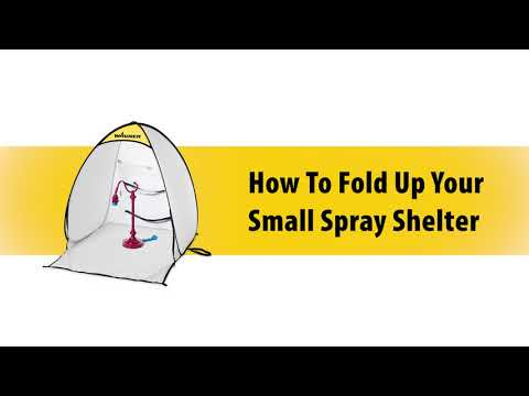 Wagner Small Spray Shelter: How to Fold Video