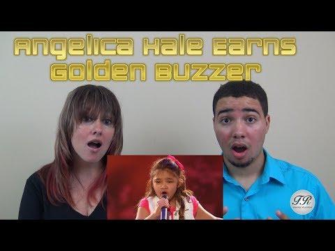 MOM & SON REACTION! Angelica Hale Earns Golden Buzzer From Chris Hardwick America's Got Talent 2017