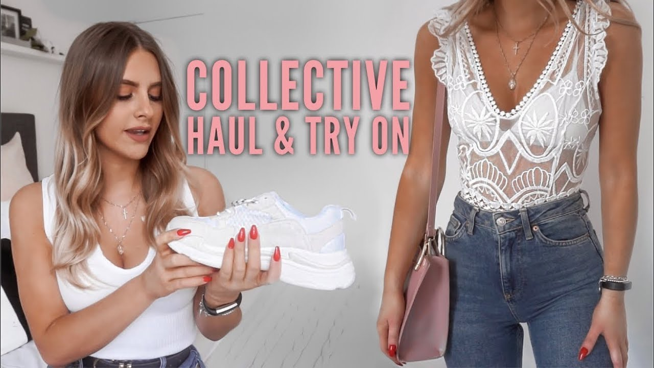 Collective Haul & Try On - Missguided, H&M, adidas, Bobbi Brown | Fashion Influx