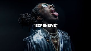 Young Thug - Expensive (ft. Hidoraah & Dolly) [Official Visualizer]