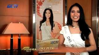 Oky Rizky Sondara Putri for Miss Indonesia 2015