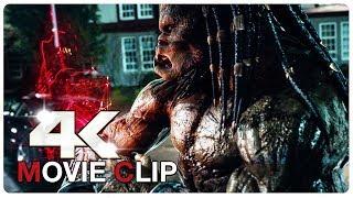 Predator Fight Scene - PREDATOR (2018) Movie CLIP 4K