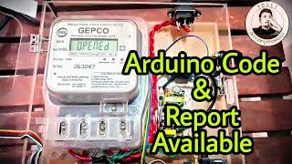 prepaid energy meter using gsm and arduino - मुफ्त