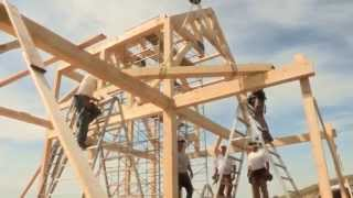 Download Youtube: Timber Frame Assembly  - Discovery Dream Homes