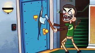 ТРОЛЛИМ популярные СЕРИАЛЫ в забавной игре Trollface Quest TV Show от Мобика