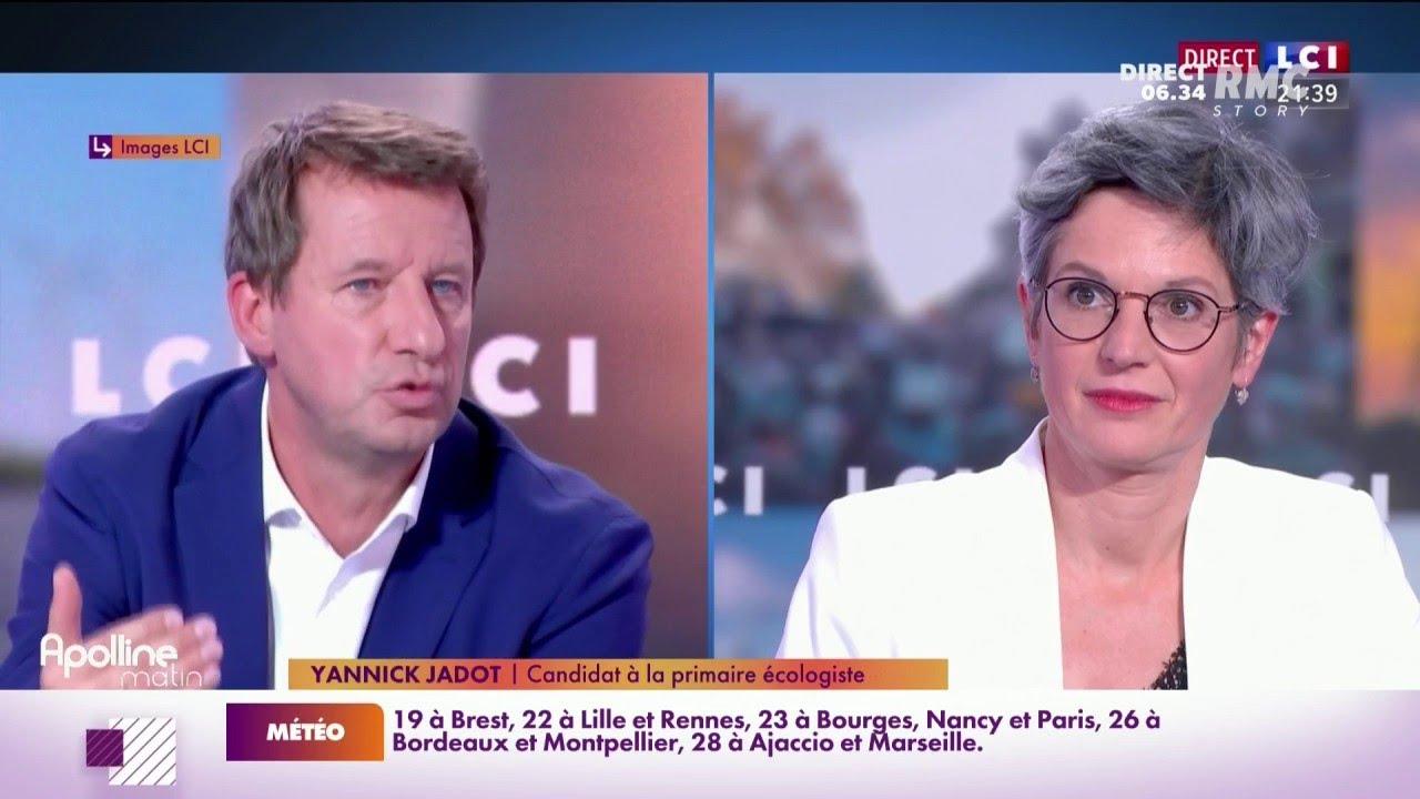 Primaire écologiste: un débat télévisé sous tension entre Yannick Jadot et Sandrine Rousseau