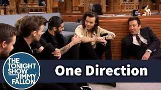 Download Youtube: One Direction and Jimmy Have a Floor Interview