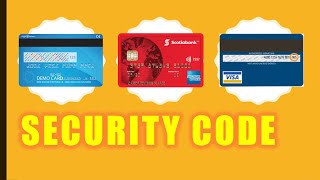 How to find Credit Card Security Code?