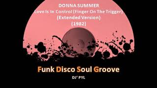DONNA SUMMER - Love Is In Control (Finger On The Trigger) (Extended Version) (1982)