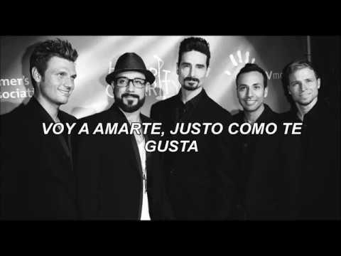 Backstreet Boys Just Like You Like it (traducida al español)