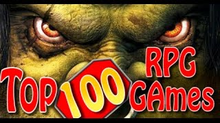 Top Games Top 100  RPG games of all time
