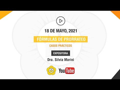 FÓRMULAS DE PRORRATEO. CASOS PRÁCTICOS - 18 de Mayo 2021