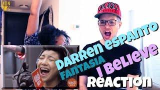 """Darren Espanto Sings Fantasia's """"I Believe"""" Reaction"""
