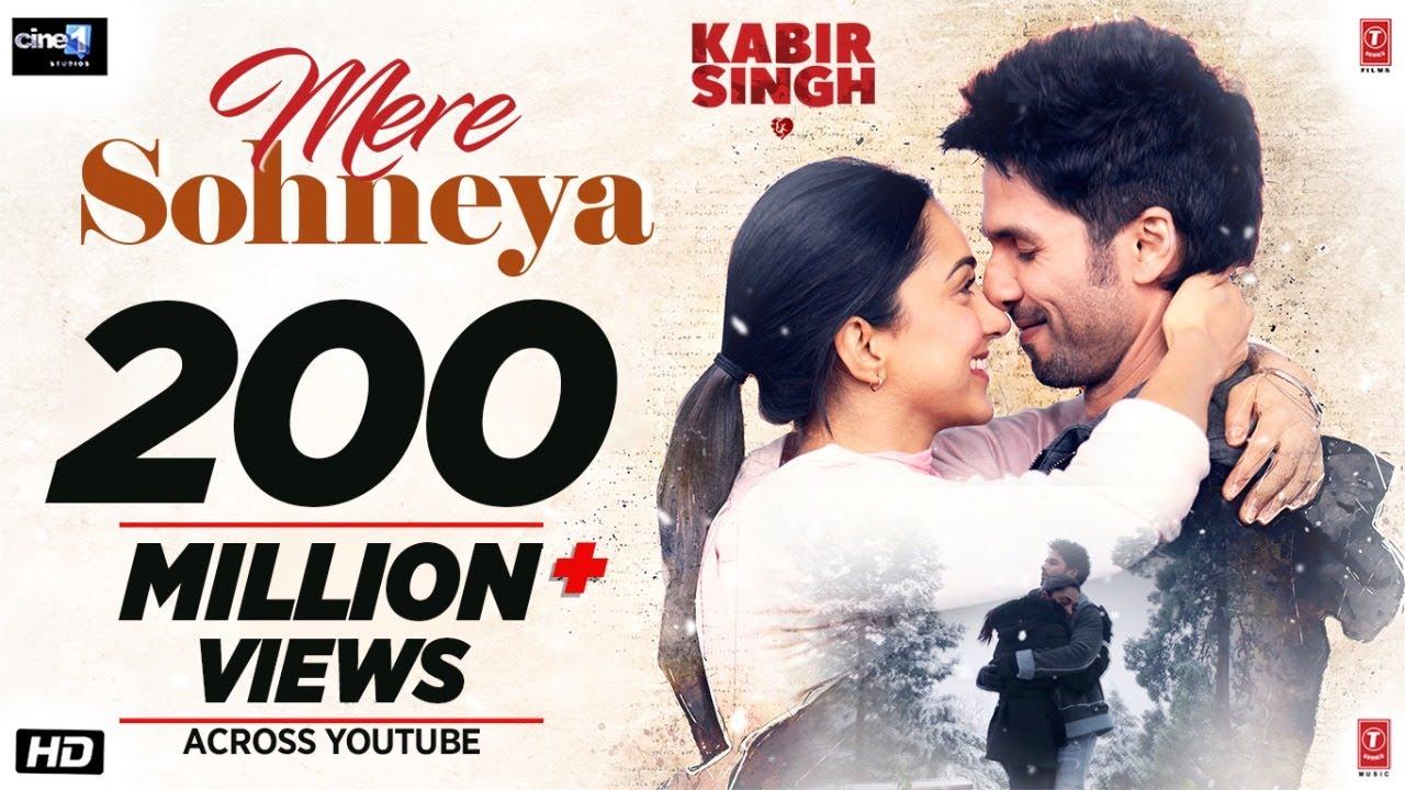 Mere Sohneya Lyrics - Kabir Singh (2019)