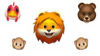 The Lion Sleeps Tonight - by The Tokens - Animoji Karaoke