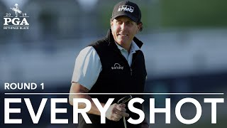 Phil Mickelson: Every Shot From First Round 69 At The 2019 PGA Championship