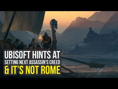 Ubisoft Teases Setting Next Assassin's Creed Game & It's NOT ROME (New Assassin's Creed Game)