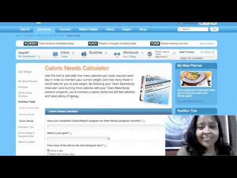 Online Tools For Fitness  - Free Calorie Counter