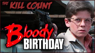 """Give me a birthday follow on Twitter (https://twitter.com/deadmeatjames/ ) and Instagram (https://www.instagram.com/deadmeatjames/ )!  Buy Bloody Birthday on... DVD ► https://amzn.to/2RSQ1yi BluRay ► https://amzn.to/2RR1fDo Multi Format ► https://amzn.to/3cyiqS3 Streaming (rental option available) ► https://amzn.to/3eALryo  PATREON ► https://patreon.com/deadmeatjames MERCH (shirts & pins) ► http://www.DeadMeatStore.com/  TWITCH (livestreaming) ► https://www.twitch.tv/deadmeatjames/  Editors: Bry, Zoran Gvojic, Joshua Lyon Thanks, Bry, Zoran, & Joshua! Zoran's YouTube channel: https://www.youtube.com/user/emcflat/featured  Graphics created by Clara Leonard & Christian Hall  Mail stuff to Dead Meat!  13535 Ventura Blvd STE C  PMB 423  Sherman Oaks, CA, 91423  Dead Meat Podcast ► http://deadmeatpod.libsyn.com/website  DnDnD (D&D podcast I'm in) ► https://itunes.apple.com/us/podcast/dndnd/id1397527832 Also at ► https://dndndpod.simplecast.fm/  Dead Meat on Social Media: Twitter ► https://twitter.com/deadmeatjames Instagram ► http://instagram.com/deadmeatjames Facebook ► https://www.facebook.com/deadmeatjames Reddit ► https://reddit.com/r/deadmeatjames/ Discord ► https://discord.gg/GHazvA5 Steam Official Group ► http://steamcommunity.com/groups/DeadMeatOfficial  James A. Janisse on Social Media: Twitter ► https://twitter.com/jamesajanisse Instagram ► http://instagram.com/jamesajanisse  Practical Folks (James's other channel): https://www.youtube.com/practicalfolks  MUSIC!!  ~~Logo/""""The Numbers""""~~ """"U Make Me Feel"""" by MK2 https://www.youtube.com/watch?v=qSET1PSw8Ic  ~~Introduction Section~~ """"Darkest Child var A"""" by Kevin MacLeod (incompetech.com) Licensed under Creative Commons: By Attribution 3.0 License http://creativecommons.org/licenses/by/3.0/ https://www.youtube.com/watch?v=CoxAMGNr6wU  ~~""""The Kills""""~~ """"Slow Shock"""" by Silent Partner https://www.youtube.com/watch?v=rKfWVymq5BQ"""