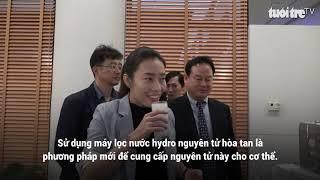 Lần đầu Việt Nam có máy lọc nước có khả năng chống oxy hóa