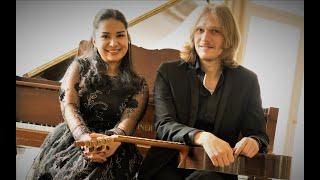 "Video thumbnail of ""Luigi Boccherini - Introduction and Fandango (E. Beleninov-guitar, E. Kotlibulatova-piano)"""
