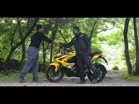 1610 kms in less than 24 hours with Pulsar RS200 - Dare