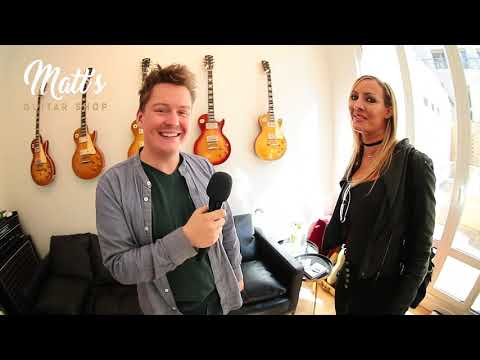 MATT'S GUITAR SHOP | NITA STRAUSS | INTERVIEW
