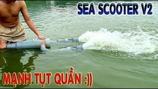 Chế Sea Scooter V2 Với Ống Nhựa PVC