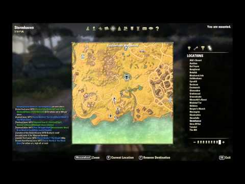 ESO Skyshard Locations - Treasure Map Locations and Tutorials ...