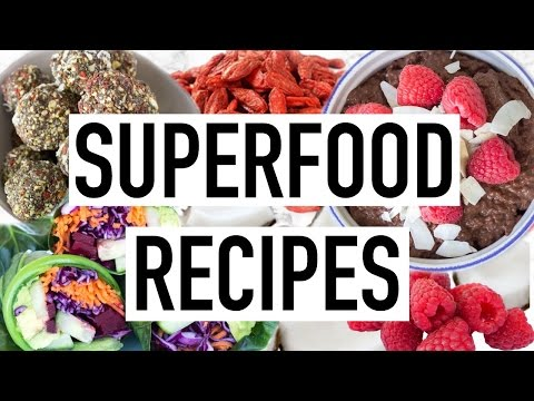 Video SUPERFOOD RECIPES! Easy & Quick Healthy Recipes! Cooking With Liv Ep.15
