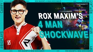 ROX Maxim's HUGE Shockwave | League Mixtape