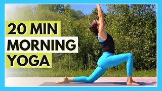 20 min Morning Yoga Flow – Daily Stretch & Strength Routine