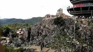 preview picture of video 'Wisata Patung Raksasa Yesus, View di Puncak Bukit Burake, Tana Toraja'