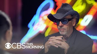 Tim Burton's art on display at Las Vegas' Neon Museum