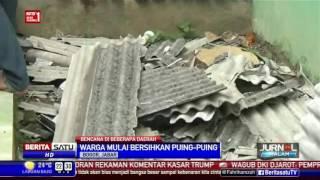 Angin Kencang Rusak Ratusan Rumah Di Bogor