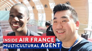 Inside Air France – Working as Multicultural service agent
