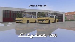VideoImage1 OMSI 2 Add-On Citybus i280 Series