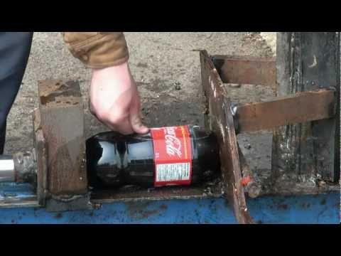 29000磅的重力太恐怖了!想看看可樂的慘樣嗎?